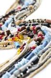 bois de seashell de colliers de programme images stock