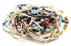 bois de seashell de colliers de programme photo libre de droits