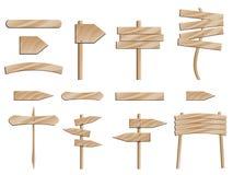 bois de signe de route Photo stock