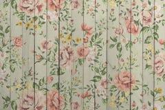 Bois floral Photographie stock