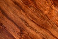 Bois naturel foncé texturisé de Brown Photographie stock libre de droits