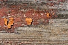 Bois peint désuet images stock