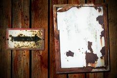 bois sale de backgrund de flèche Image libre de droits