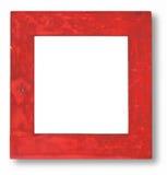 bois souillé rouge de trame Photographie stock libre de droits