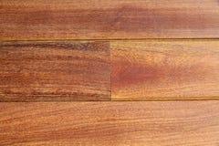 Bois tropical de decking de teck de tenue de protection individuelle de modèle en bois de plate-forme Photo stock