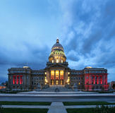 Boise capitol building Royalty Free Stock Photo