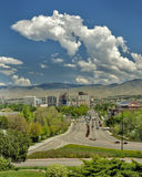 Boise City view of the Capital Royalty Free Stock Images