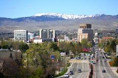 Boise del centro Idaho Fotografia Stock Libera da Diritti