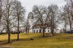 The Boise Depot is a beautiful historic Spanish-style structure operated by the Boise Parks and Recreation Department. As a public ceremonial or meeting space Royalty Free Stock Image