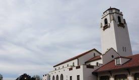 Boise Depot is het oriëntatiepunt van Idaho sinds 1925 geweest royalty-vrije stock afbeelding