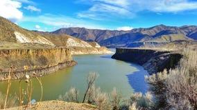 Boise flod Arkivbild