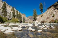 Boise-Fluss lizenzfreies stockbild