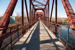 Boise Idaho Bridge Royalty Free Stock Photos