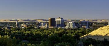 Boise Idaho city of trees sunrise Royalty Free Stock Images