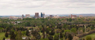 Boise Idaho Downtown City Skyline västra Förenta staterna Arkivbilder
