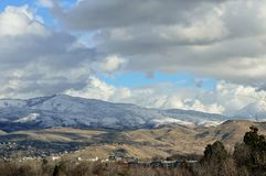 Boise Idaho Foothills 5 royalty-vrije stock foto