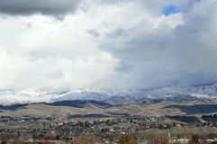 Boise Idaho Foothills 10 Photos libres de droits
