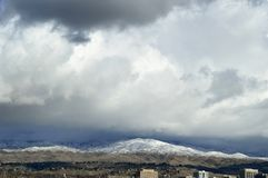 Boise Idaho pogórza 1 fotografia stock