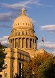 Boise Idaho stolicy W centrum Capitol Buduje Prawodawczego centrum obrazy stock