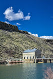 Boise reiver at the diversion dam Stock Photography