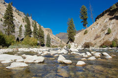 Boise River. South fork of the Boise River. Elmore Co. Idaho Royalty Free Stock Image