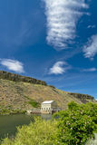 Boise River diversion Dam and dramatic cloud Stock Photography