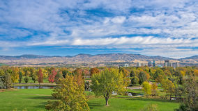 Free Boise Skyline And Park In The Fall Royalty Free Stock Image - 61321286