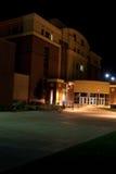 Boise State University. Night time photo of Boise State University campus building architecture Royalty Free Stock Photos