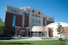 Boise State University. Photo of Boise State University campus  building architecture Royalty Free Stock Photos