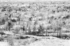 Boise Town Idaho Fotografering för Bildbyråer