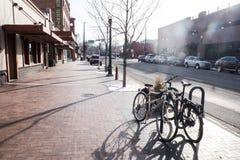 Boise Town Idaho Arkivfoto