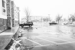 Boise Town Idaho Arkivbilder