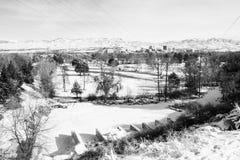 Boise Town Idaho Arkivbild
