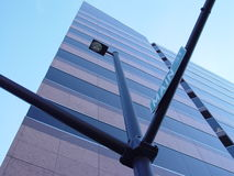 Boise-wellfargo-UrbanDezign Fotografia Stock Libera da Diritti