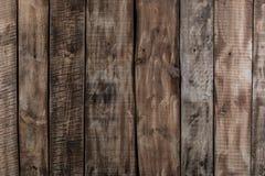 Boisez la texture en bois brune de planche, fond industriel de mur Images stock