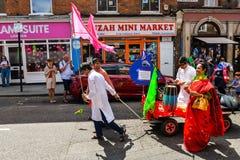 Boishakhi Mela - 2019 - Λονδίνο στοκ εικόνα με δικαίωμα ελεύθερης χρήσης