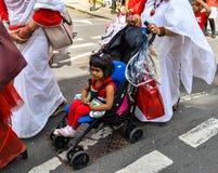 Boishakhi Mela - 2019 - Λονδίνο στοκ φωτογραφίες