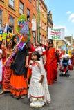 Boishakhi Mela - 2019 - Λονδίνο στοκ εικόνα