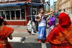 Boishakhi Mela - 2019 - Λονδίνο στοκ εικόνες με δικαίωμα ελεύθερης χρήσης