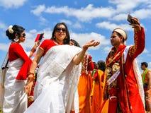 Boishakhi Mela - 2019 - Λονδίνο στοκ φωτογραφία