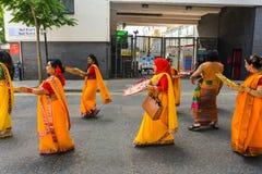 Boishakhi Mela - 2019 - Λονδίνο στοκ φωτογραφία με δικαίωμα ελεύθερης χρήσης
