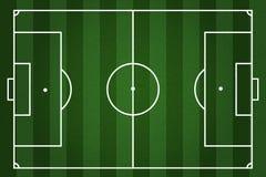 Boiska piłkarskiego prążkowany tło Obraz Stock