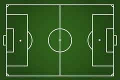 Boiska piłkarskiego tło Zdjęcia Royalty Free