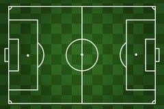 Boiska piłkarskiego w kratkę tło Obraz Stock