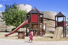 Boiska w parku Zdjęcia Royalty Free