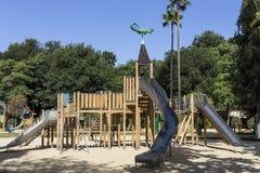 Boisko dla dzieci w parku Zdjęcia Stock