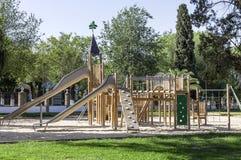 Boisko dla dzieci w parku Zdjęcie Royalty Free