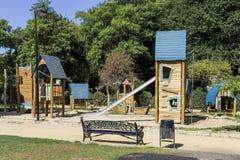 Boisko dla dzieci w parku Fotografia Stock