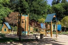 Boisko dla dzieci w parku Zdjęcia Royalty Free