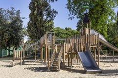 Boisko dla dzieci w parku Zdjęcie Stock
